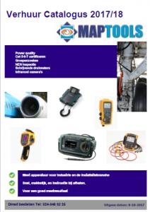 Test en meet verhuur catalogus voor Industrie en installatie branche