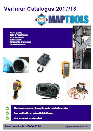 MapTools verhuurcatalogus