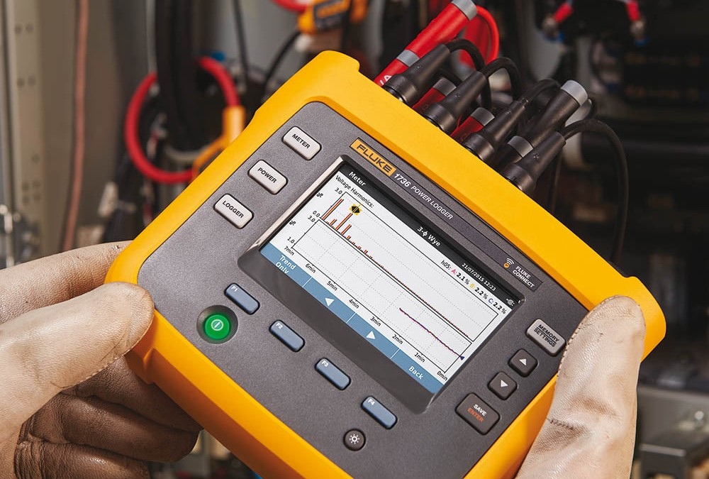 Fluke 1736 en 1738 power quality logger