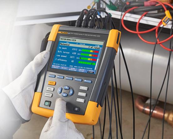 Fluke 438-2 PQ en Energy/motor Analyser